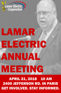 Annual Meeting April 21